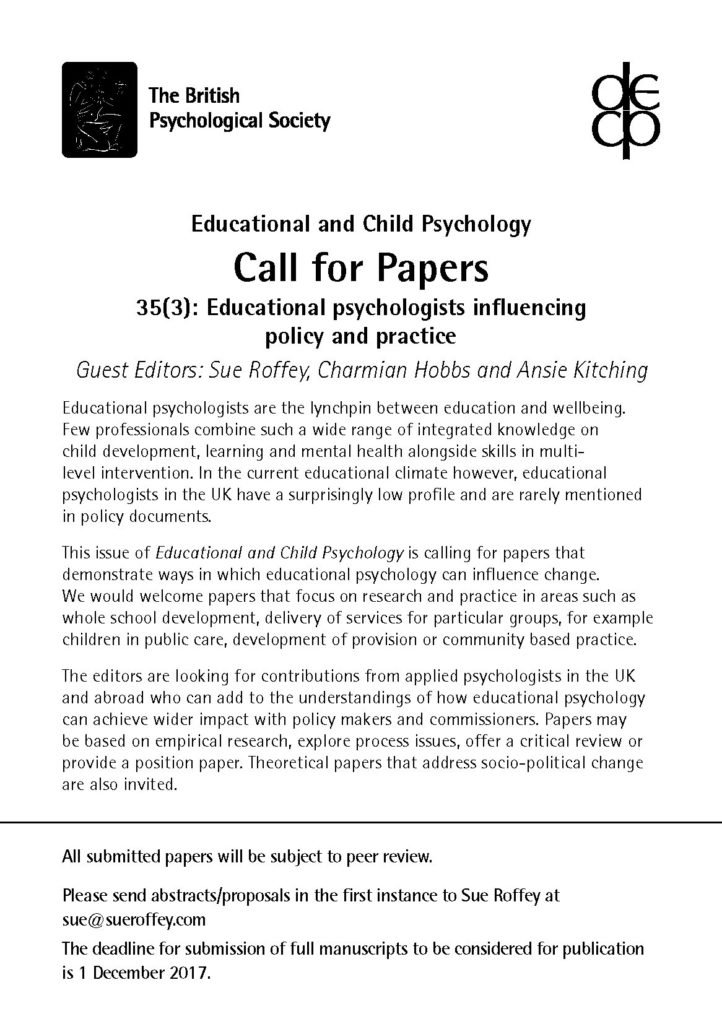 Child psychology term paper
